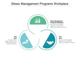 Stress Management Programs Workplace Ppt Powerpoint Presentation Guide Cpb