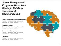 Stress Management Programs Workplace Strategic Thinking Transparent Communication Cpb