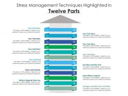 Stress Management Techniques Highlighted In Twelve Parts