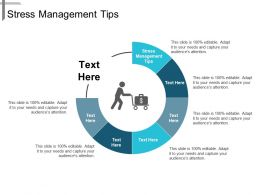 Stress Management Tips Ppt Powerpoint Presentation Infographics Example Topics Cpb