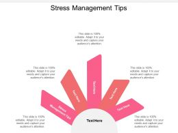 Stress Management Tips Ppt Powerpoint Presentation Sample Cpb