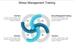 Stress Management Training Ppt Powerpoint Presentation Icon Structure Cpb