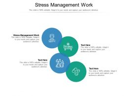 Stress Management Work Ppt Powerpoint Presentation Professional Ideas Cpb