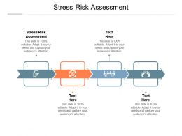 Stress Risk Assessment Ppt Powerpoint Presentation Infographic Template Design Ideas Cpb