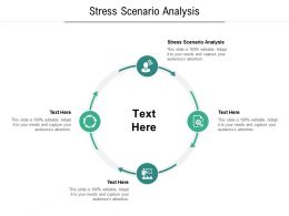 Stress Scenario Analysis Ppt Powerpoint Presentation Model Design Ideas Cpb