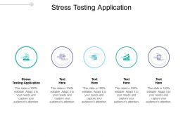 Stress Testing Application Ppt Powerpoint Presentation Outline Graphics Pictures Cpb