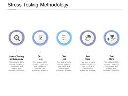 Stress Testing Methodology Ppt Powerpoint Presentation Outline Backgrounds Cpb