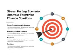 Stress Testing Scenario Analysis Enterprise Finance Solutions Cpb