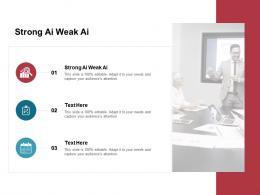 Strong Ai Weak Ai Ppt Powerpoint Presentation File Smartart Cpb