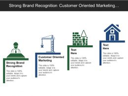 Strong Brand Recognition Customer Oriented Marketing Strategies Market Research