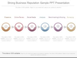 Strong Business Reputation Sample Ppt Presentation