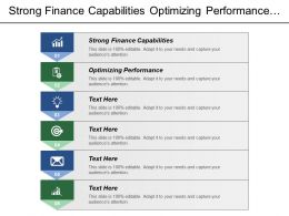 Strong Finance Capabilities Optimizing Performance Cambridge Academy Expert Workshops