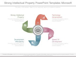 Strong Intellectual Property Powerpoint Templates Microsoft