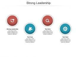Strong Leadership Ppt Powerpoint Presentation Example File Cpb