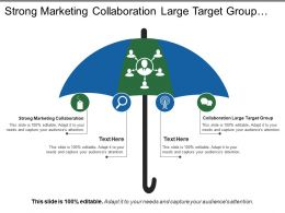Strong Marketing Collaboration Large Target Group Centralized Management