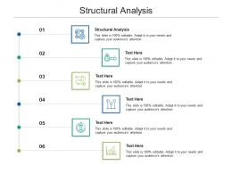 Structural Analysis Ppt Powerpoint Presentation Backgrounds Cpb