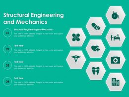 Structural Engineering And Mechanics Ppt Powerpoint Presentation Slides