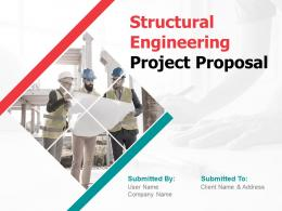 Structural Engineering Project Proposal Powerpoint Presentation Slides