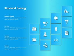 Structural Geology Ppt Powerpoint Presentation Show