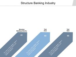 Structure Banking Industry Ppt Powerpoint Presentation Introduction Cpb