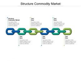Structure Commodity Market Ppt Powerpoint Presentation Ideas Tips Cpb