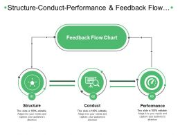Structure Conduct Performance And Feedback Flow Chart