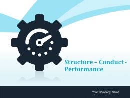 Structure Conduct Performance Ppt Infographic Template Slide Portrait Market Performance