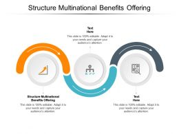Structure Multinational Benefits Offering Ppt Powerpoint Presentation Portrait Cpb