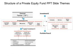 Structure Of A Private Equity Fund Ppt Slide Themes