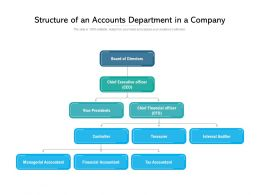 Structure Of An Accounts Department In A Company