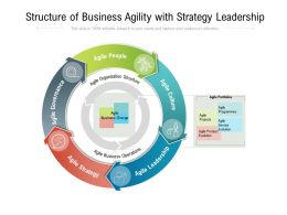 Structure Of Business Agility With Strategy Leadership