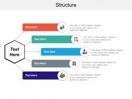 Structure Ppt Powerpoint Presentation Ideas Design Inspiration Cpb