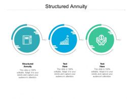 Structured Annuity Ppt Powerpoint Presentation Styles Clipart Cpb