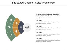 Structured Channel Sales Framework Ppt Powerpoint Presentation Summary Deck Cpb