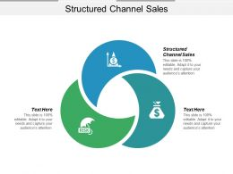 Structured Channel Sales Ppt Powerpoint Presentation Pictures Slideshow Cpb