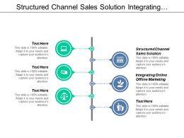 Structured Channel Sales Solution Integrating Online Offline Marketing Cpb