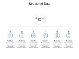 Structured Data Ppt Powerpoint Presentation Styles Example Cpb