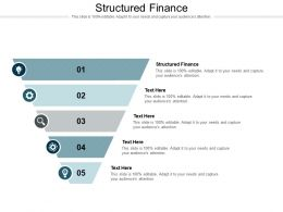 Structured Finance Ppt Powerpoint Presentation Styles Introduction Cpb