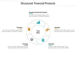 Structured Financial Products Ppt Powerpoint Presentation Gallery Visuals Cpb