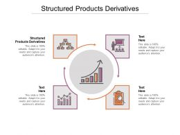 Structured Products Derivatives Ppt Powerpoint Presentation Show Icons Cpb