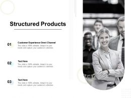 Structured Products Ppt Powerpoint Presentation Files Cpb