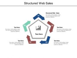 Structured Web Sales Ppt Powerpoint Presentation Slides Example Cpb