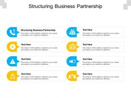 Structuring Business Partnership Ppt Powerpoint Presentation Infographics Slide Download Cpb