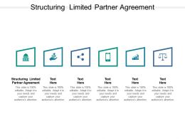 Structuring Limited Partner Agreement Ppt Powerpoint Presentation Infographic Template Cpb