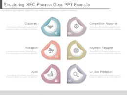 Structuring Seo Process Good Ppt Example