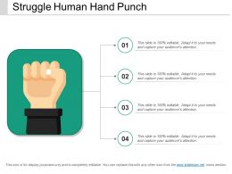 Struggle Human Hand Punch