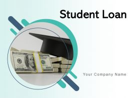 Student Loan Education Document Graduate Dollar Application Required Currency