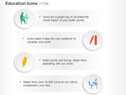 student_studying_pen_ruler_paintbrush_study_table_ppt_icons_graphics_Slide01