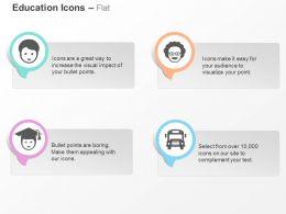 student_teacher_graduate_school_bus_ppt_icons_graphics_Slide01