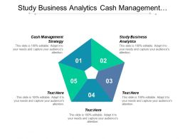 Study Business Analytics Cash Management Strategy Supply Chain Transformation Cpb